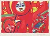 Herbert Gentry, American, 1919–2003; <i>Today</i>, 1987; screenprint; Saint Louis Art Museum, The Thelma and Bert Ollie Memorial Collection, Gift of Ronald and Monique Ollie 140:2017; © Estate of Herbert Gentry