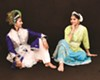 In <i>You Are My True Reflection</i>, the old love story of Krishna and Radha is retold through Indian dance and music.