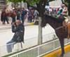 Steve Truesdell getting his shot in March 2016 in Talpa de Allende, Mexico.