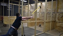 STL Axe Throwing Sharpens Your Skills at Hurling Bladed Weapons Through the Air
