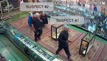 Clowns Armed with Semi-Automatics Pull Off Head Shop Heist