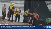 Maniac Swims the Mississippi — and Survives
