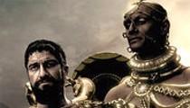 It's Spartan hotties versus Persian trannies in Zack Snyder's far-too-faithful Frank Miller adaptation.