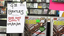 They're crying noise pollution in New Town, but at Vintage Vinyl last week the music couldn't have been loud enough during its Beatles Day celebration