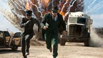 Seth Rogen schlubs it up as <i>The Green Hornet</i>'s masked man