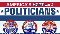 America's Worst Politicians: From Capitol Hill to the boonies of Idaho, here are the bottom feeders of public office