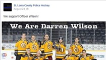 St. Louis County Police Hockey Team Publicly Supports Officer Darren Wilson on Facebook