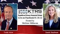Akin, Steelman Debate to Stream Live on Facebook This Morning