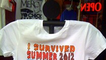Isn't This Summer 2012 Commemorative T-Shirt a Little Premature?