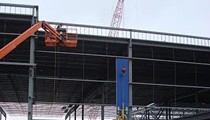 IKEA St. Louis Takes Shape as Installation Begins on Blue Exterior Walls