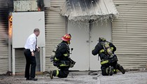 PHOTOS: St. Louis Firefighters Battle a Blaze at Woodworking Studio