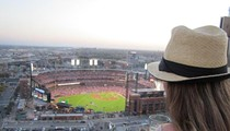 Catching a Cardinals Game from 26 Stories Up -- The View From Three Sixty