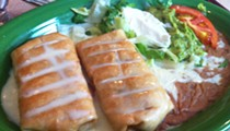 Guess Where I'm Eating this Chimichanga and Win $10 to La Tejana Taqueria [Updated]!