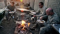 A Veteran's Day Look at Military Chow