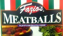 Fazio's Meatballs Recalled for Listeria Risk