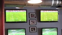 Netherlands 2, Cameroon 1; Japan 3, Denmark 1: Multitasking at the Post Sports Bar & Grill