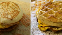 Fight Club Sandwich: Jack in the Box's Waffle Breakfast Sandwich vs. McDonald's McGriddle