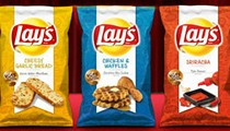 Lay's New, Limited-Time Sriracha, Chicken & Waffles and Cheesy Garlic Bread Chips Now Available In Some St. Louis Grocery Stores