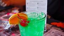 Silver Ballroom Bartender Justin Deming Mixes...A Slutbucket!