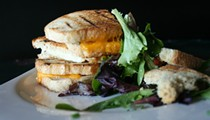 Guess Where I'm Eating this Grilled Cheese Sandwich and Win a Gioia's Gift Certificate [Updated With Winner]!