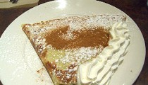 Try the Pumpkin Pie Crêpe at City Coffeehouse & Crêperie