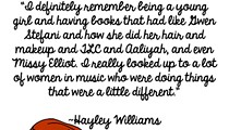 Hayley Williams On Being a Rockstar, in Illustrated Form