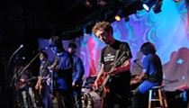 Review + Setlist + Photos: Brian Jonestown Massacre Jangles, Drones and Drops Cake at Sold-Out Off Broadway, Friday, June 11