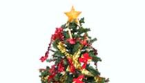 Lady Gaga's Naughty Take on Christmas Trees