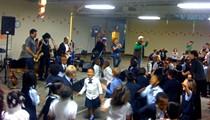 La Lección De Hoy: Ozomatli at SLLIS school, May 14, 2010