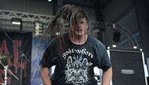 Cannibal Corpse Performing In Broad Daylight: Photos