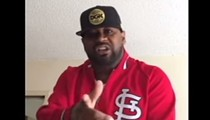 Ghostface Killah Looking Fresh in a Crispy Cardinals Pullover, Threatening Action Bronson