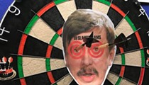Now You Can Pee on Stan Kroenke's Stupid Face at a Hotshots Bar Near You