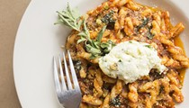 Because Our Italian Food Is No Longer 'Red or White Sauce'?