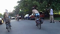 Two New (NSFW) Videos Show Paintball Guy Shooting Naked Cyclists
