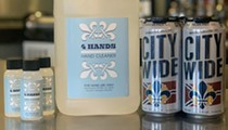 Four Hands Brewing, Experts at Hand Stuff, Now Giving Away Hand Sanitizer