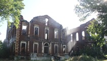Clemens House, Owned by Mark Twain's Relative, Burns North of Downtown