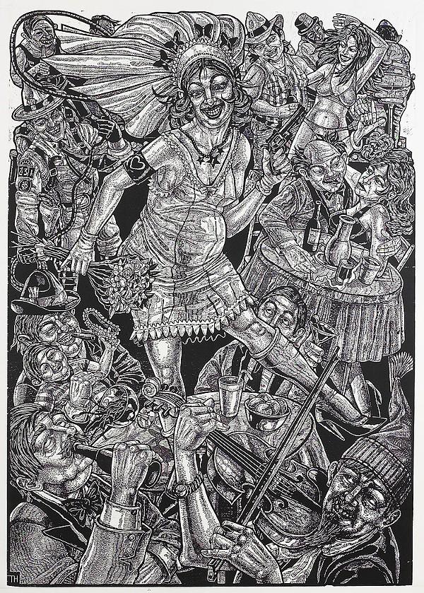 The Prints of Tom Huck