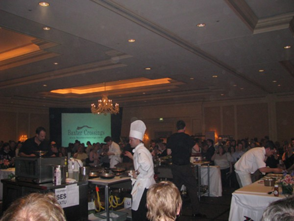 Scenes from the RFT Ironfork competition, April 17, 2008 at the Ritz-Carlton, St. Louis