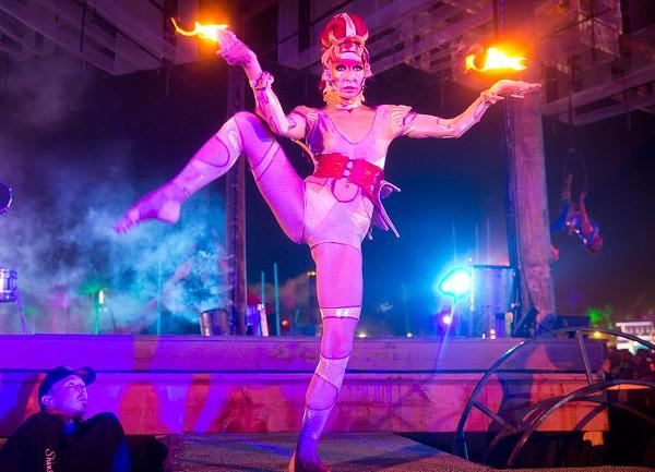 Coachella 2013: The Do LaB Stage at Night