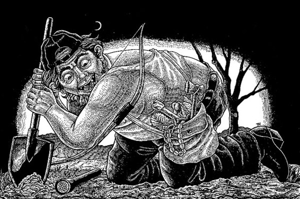 Tweakers 'N Diggers: Looters are pillaging Native American burial grounds to finance their meth habits