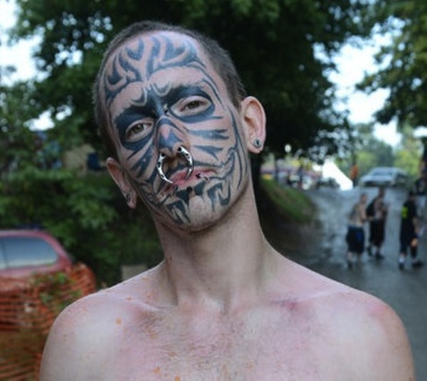 Gathering Of Juggalos: Tattoo-Faced Man From Viral Mugshot