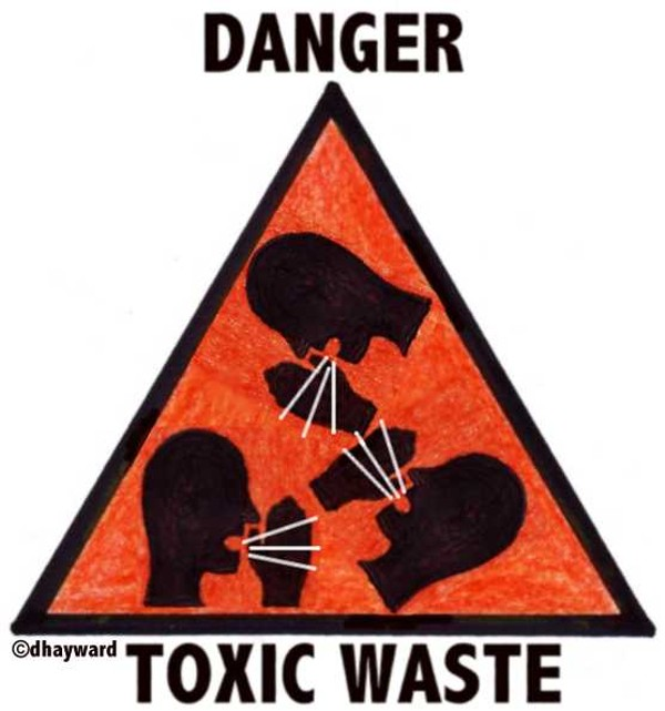 toxic waste sign - 556×594