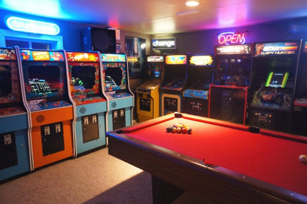 Coolest Pastor Ever Calls His Basement Full Of Arcade