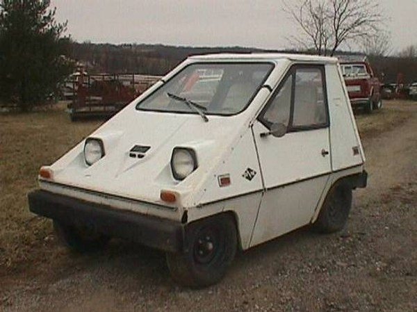 Found On Craigslist 1975 Electric Car Looks Part Golf Cart Part Cheese Wedge News Blog