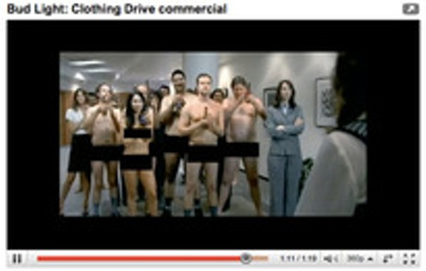 Watch the bud light clothing drive commercial you wont see during watch the bud light clothing drive commercial you wont see during super bowl news blog aloadofball Gallery