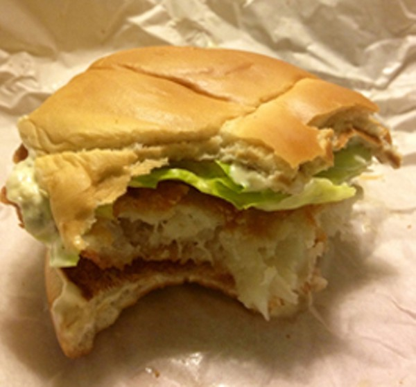 Taste test burger king premium alaskan fish sandwich vs for Wendy s fish sandwich