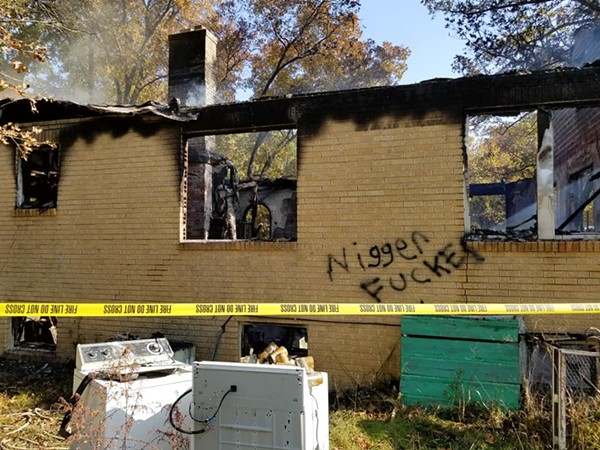 First A Racial Slur Appeared On Missouri Home Then The House Burned Down
