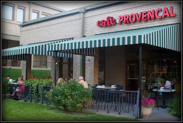 Cafe Provencal St Louis Menu