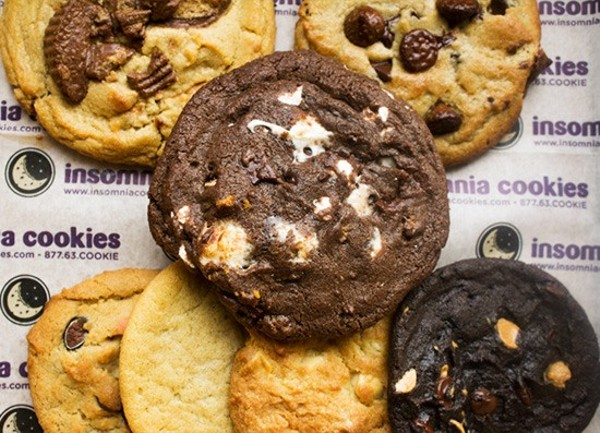 insomnia cookie cake insomnia cookies is now open in downtown st louis food 5161
