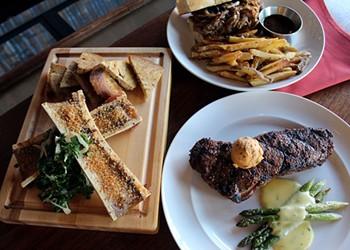 Hamilton's Urban Steakhouse Serves Up Premium Steaks — and Vegetables, Too